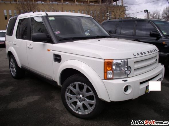 Аренда Land Rover Discovery 3