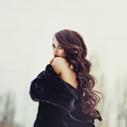 Причёска Локоны