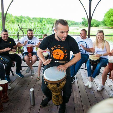 Мастер сласс с барабанами
