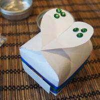 бонбоньерка Коробочка с сердцем
