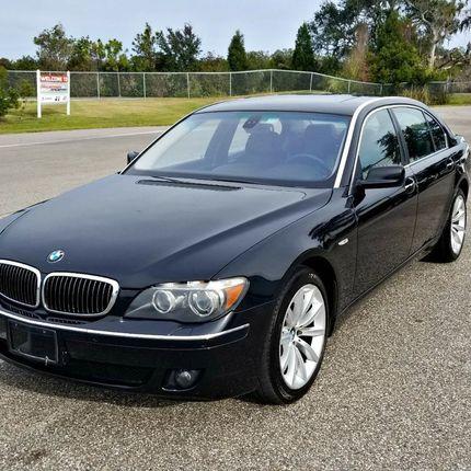 Аренда BMW 750, 1 час