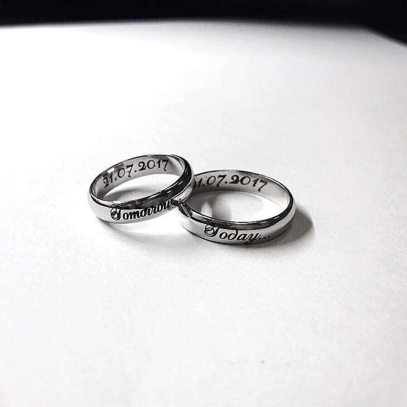 Фото 17765034 в коллекции Обручальные кольца на заказ - Ювелирная студия Dasaev