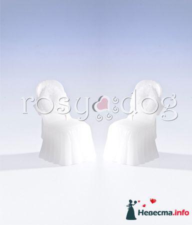 Свадебная свеча Стул - фото 87596 RosyDog – свадебные аксессуары из Америки и Европы