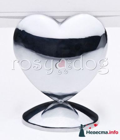 """Держатель для рассадочных карточек """"Большое сердце"""" - фото 87606 RosyDog – свадебные аксессуары из Америки и Европы"""