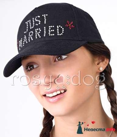 Бейсболка для медового месяца Just Married - фото 89982 RosyDog – свадебные аксессуары из Америки и Европы
