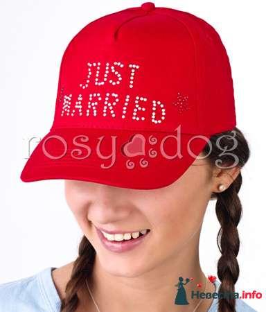 Бейсболка для медового месяца Just Married - фото 89983 RosyDog – свадебные аксессуары из Америки и Европы