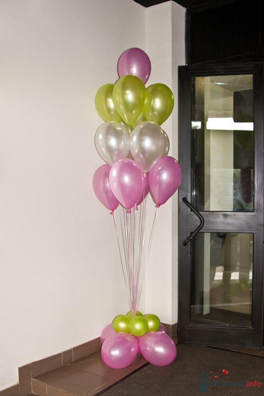 Фото 77699 в коллекции Оформление воздушными шарами - Невеста01
