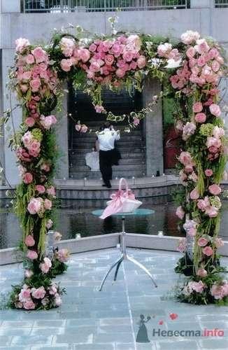Фото 57846 в коллекции Варианты оформления банкетных залов и выездных церемоний - Incognito