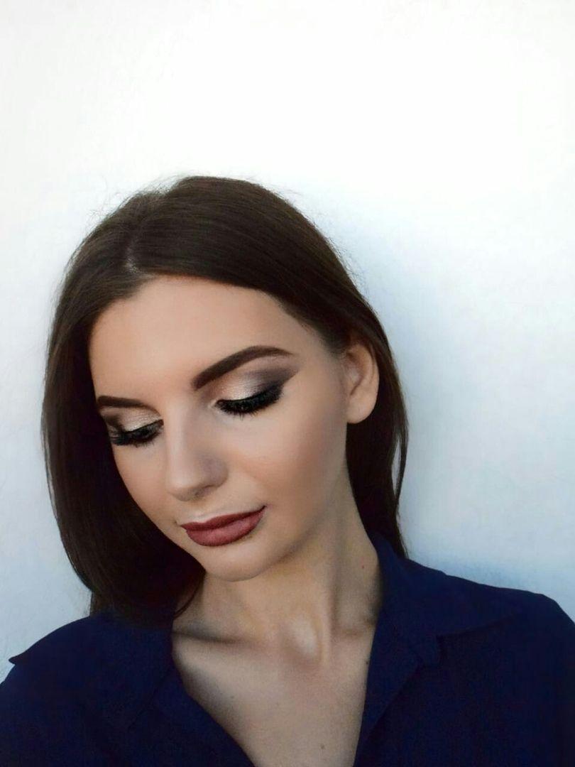 Дневной макияж для Карины - фото 17799652 Стилист-визажист Измоденова Ксения