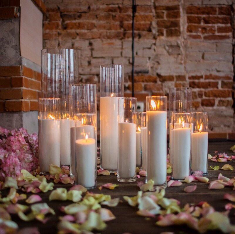 Аренда насыпных свечей + скидки