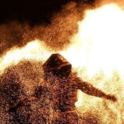 """Огненно-искровой перформанс """"Магия огня"""""""