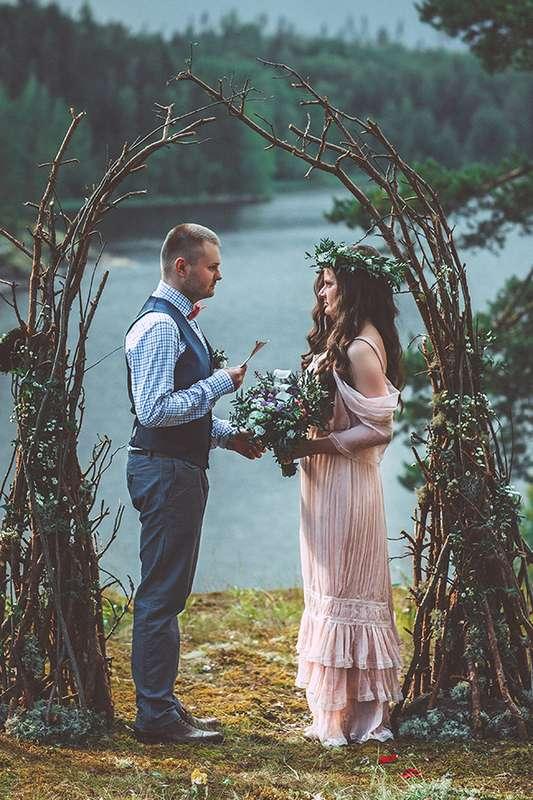 Сказочная лесная свадьба - фото 3301077 Лю Комаровская -  фотограф