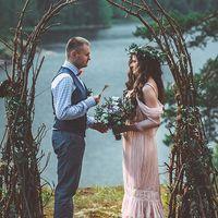 Сказочная лесная свадьба