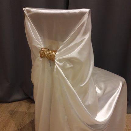 Чехлы для стульев универсальные атлас