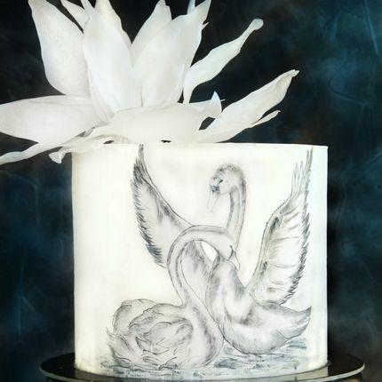 Торт Лебеди, 3 кг