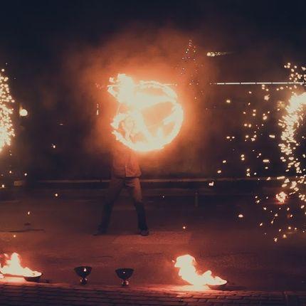 Огненно- пиротехническое шоу