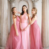 Платье-траснформер для подружек невесты