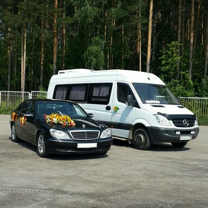 Аренда автобуса Mercedes-Benz Sprinter, 20 мест
