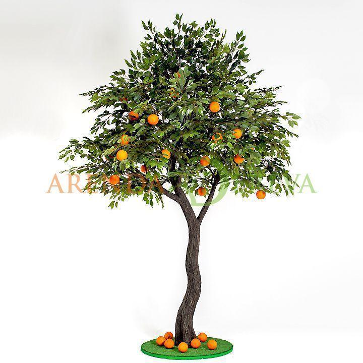 """Аренда искусственного дерева """"Апельсин"""", 3 м."""