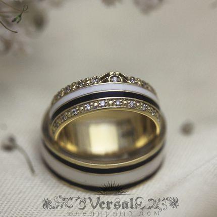 Парные обручальные кольца, артикул VGOK0132