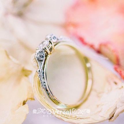 Помолвочные кольца золотые