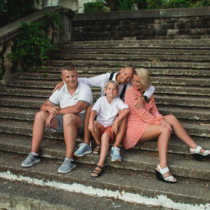 Семейная фотосъёмка, 1-3 часа