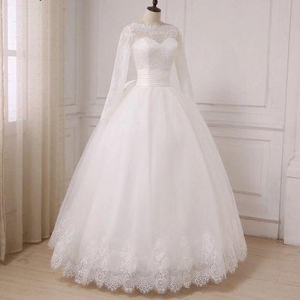 Платье невесты пышное