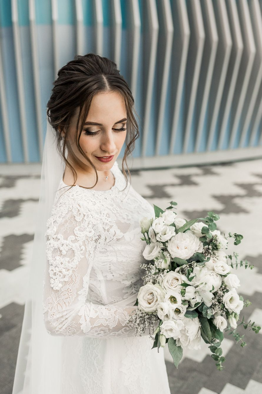 Фото 19609702 в коллекции Свадебное портфолио - Стилист-визажист Илона Соколюк