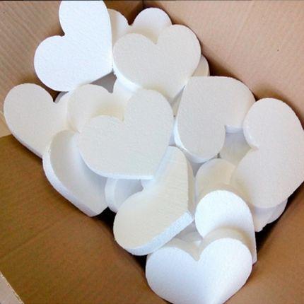 Сердце из пенопласта, 1 шт.