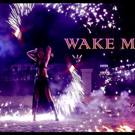 Фаер шоу Wake me