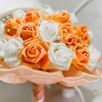 Букет из роз - фоамиран