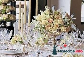 Фото 88259 в коллекции Оформление свадебного стола - Подружка невесты - свадебный организатор и распорядитель