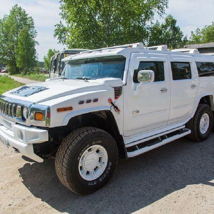 Hummer H2, белый в аренду, 1 час