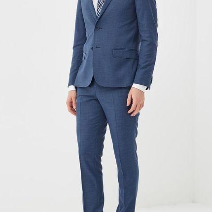 Мужской костюм синий
