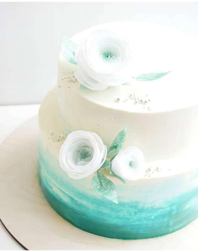 """Фото 18521246 в коллекции Свадебные - Домашняя кондитерская """"Anzhelika cake"""""""