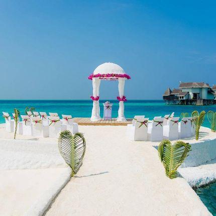 Организация церемонии на Мальдивах