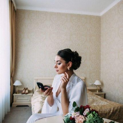 Репетиция образа для невесты
