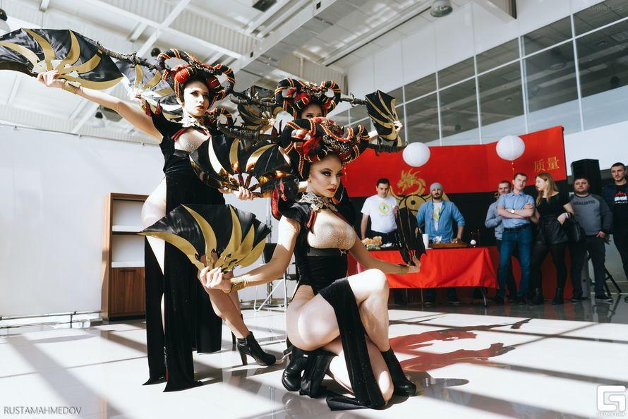 Танцевальный номер Азия