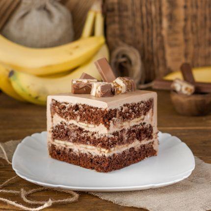 Торт Шоколадно-банановый, 1 кг