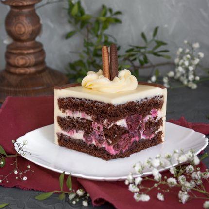 Торт Чёрный лес, 1 кг.