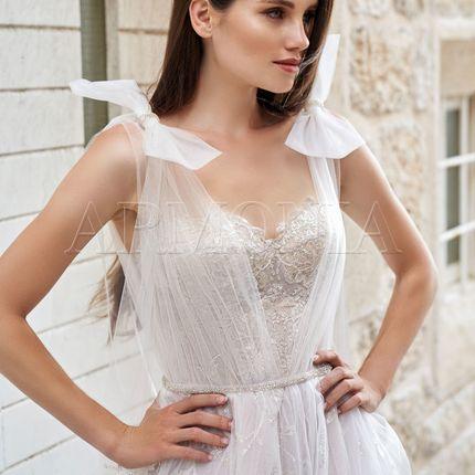 Платье Izar - мерцающий декор