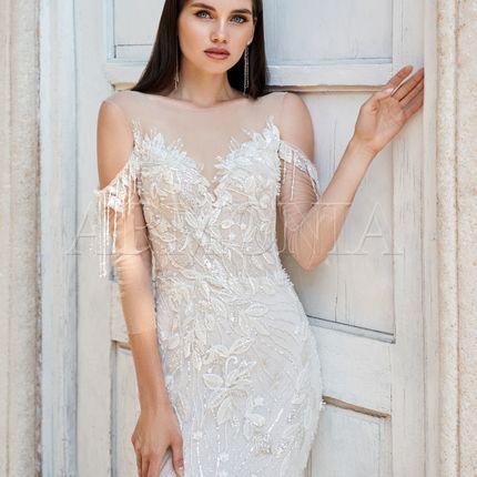 Платье Serpens - русалка с открытой спиной