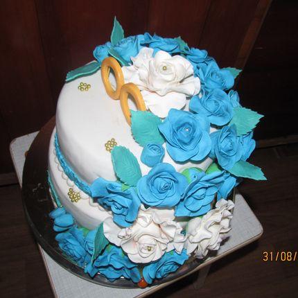 Торт с мастикой, 1 кг
