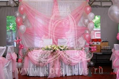 оформление свадьбы в розовых тонах - фото 56890 Дизайн Ателье КорАлевство праздника