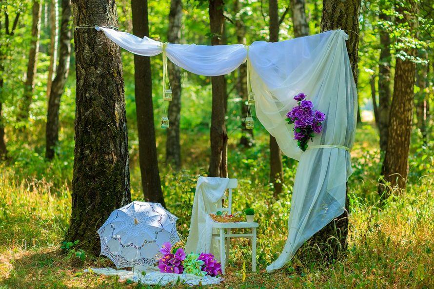 Оформление свадьба на природе своими руками 7