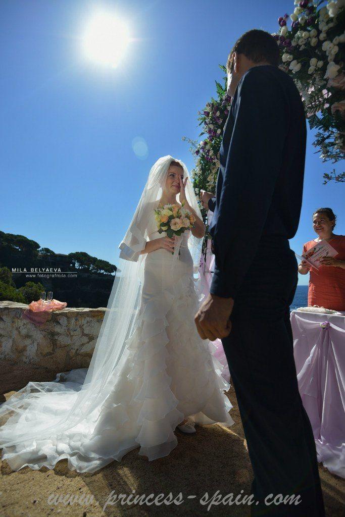 Фото 5910768 в коллекции Анна&Алексей - свадьба в Испании, церемония на море - Агентство Princess Spain