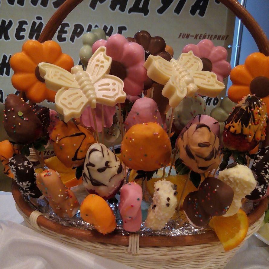 """Фото 10871596 в коллекции Корзины подарочные.Фруктовые композиции - Кондитеры """"Шоколадная радуга"""""""