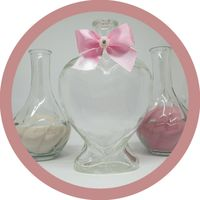 Набор для песочной церемонии розовый