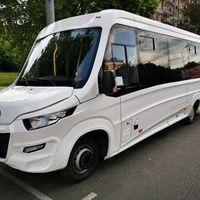 Автобус белый на 25 - 35 мест в аренду