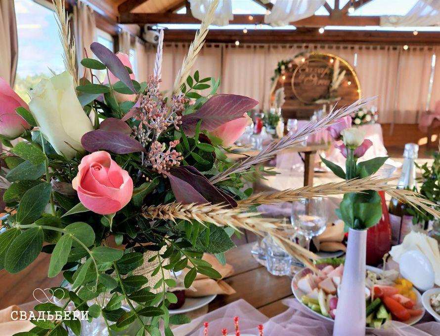 """Фото 19899109 в коллекции Цветочные композиции - """"Свадьбери"""" - организация свадеб"""